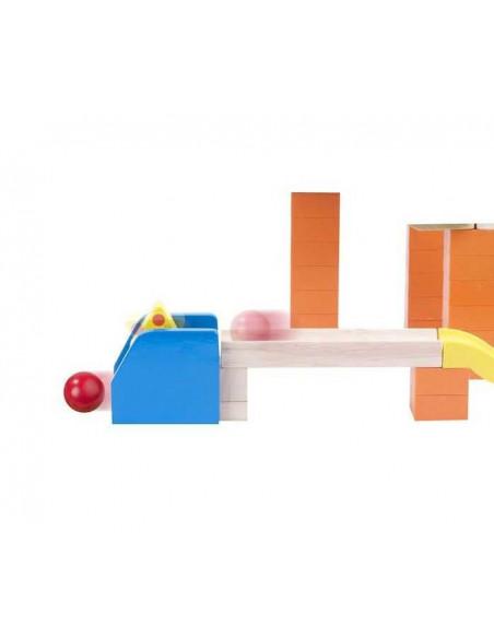 Dřevěná kuličková dráha TRIX - Kouzelná výhybka
