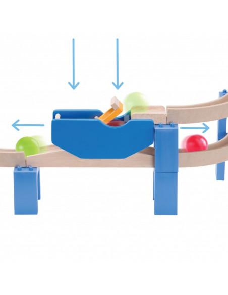 Dřevěná kuličková dráha TRIX - Spirála