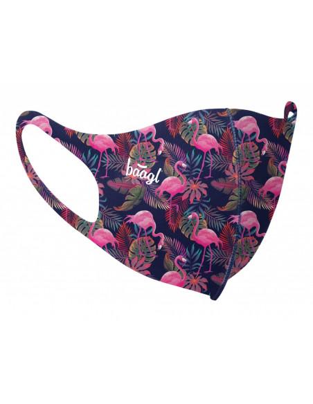 Antibakteriální rouška pro dospělé Flamingo