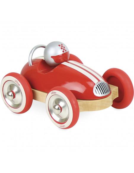 Dřevěné auto Roadster vintage červené