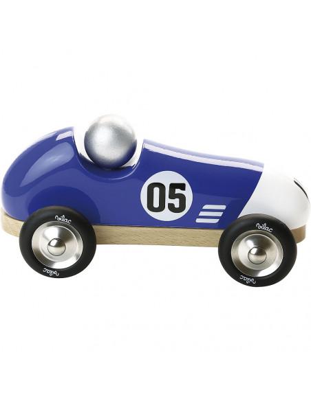 Závodní auto Vintage modré