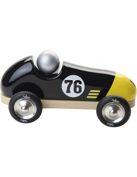 Závodní auto Vintage černé
