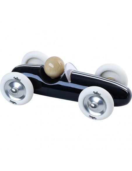 Dřevěné auto velké Grand prix vintage černé