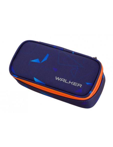 Studentský penál WIZZARD Laser Blue