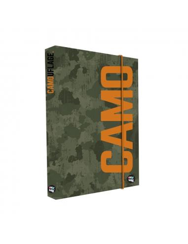 Box na sešity A4 Camo