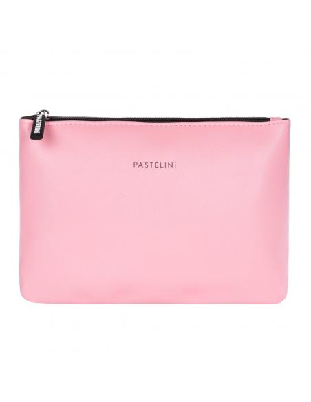 Kosmetická taška plochá PASTELINI růžová