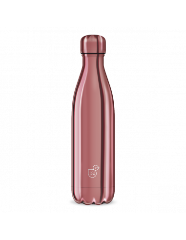 Termoláhev Metal pink 500 ml