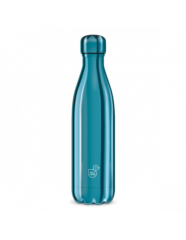 Termoláhev Metal blue 500 ml