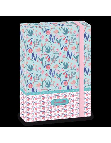 Box na sešity Jardinette A4