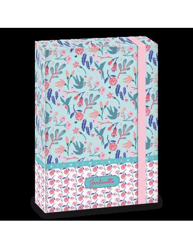 Box na sešity Jardinette A5