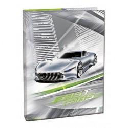 Box na sešity A4 Fast Cars