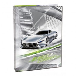 Box na sešity A5 Fast Cars