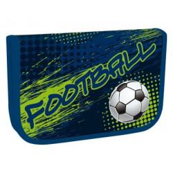 Školní penál jednopatrový Football 2