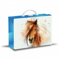 Lamino kufřík hranatý kůň