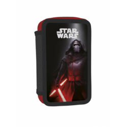 Penál dvoupatrový s náplní Star Wars