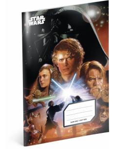 Školní sešit Star Wars – Attack, A4, 40 listů, nelinkovaný