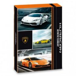 Box na sešity Lamborghini A4