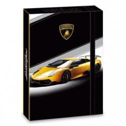 Box na sešity Lamborghini žluté A4