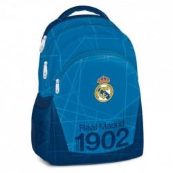 Real Madrid blue pětikomorový studentský batoh