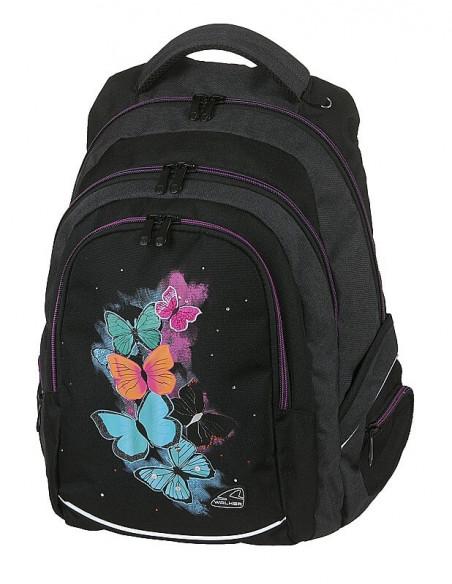 Studentský batoh FAME Butterfly