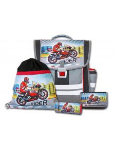Školní aktovkový set Rider 4-dílný