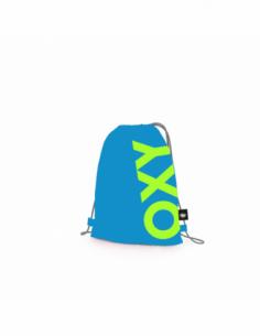 Sáček na cvičky OXY Neon Blue