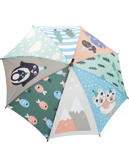 Deštník tučňák
