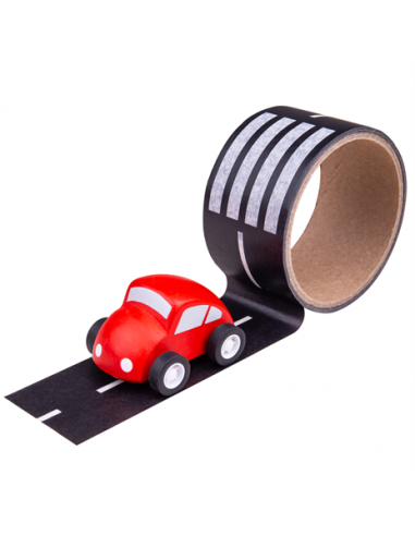 Lepící páska cesta s autíčkem