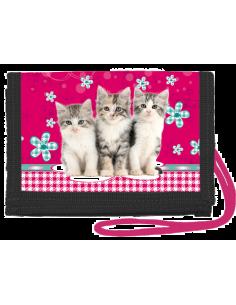 Peněženka na krk Cats