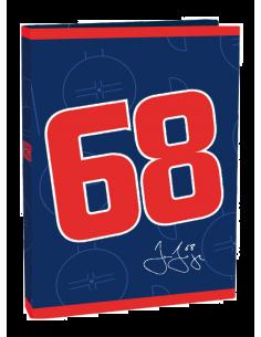 Box na sešity A4 Jágr 68 modrý