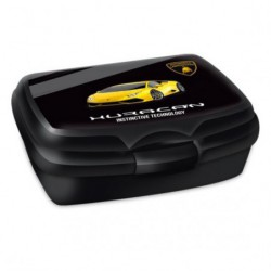 Box na svačinu Lamborghini black